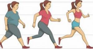 camminare jogging correre